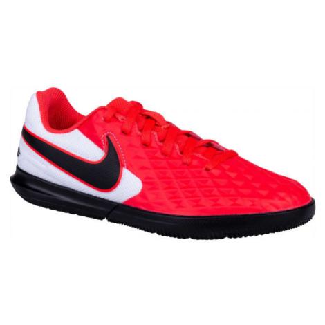 Nike JR TIEMPO LEGEND 8 CLUB IC rot - Kinder Fußballschuhe