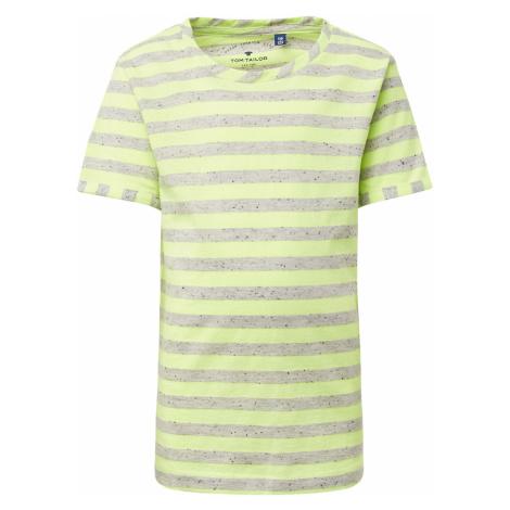 TOM TAILOR Jungen Gestreiftes T-Shirt, weiß, gestreift