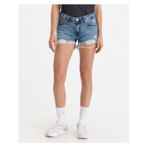 Pepe Jeans Thrasher Destroy Shorts Blau