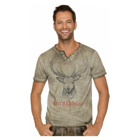 Trachten T-Shirt PASCAL sand