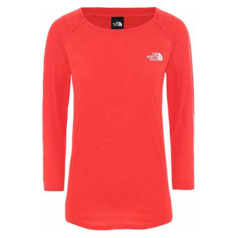 The North Face W Hikesteller 3/4 Sleeve Top Funktionshirt rot Damen