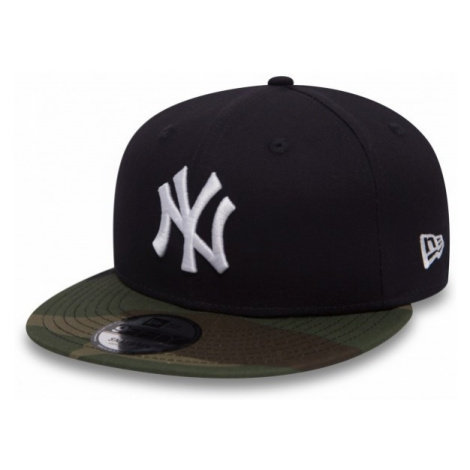 New Era 9FIFTY TEAM CAMO NEW YORK YANKEES schwarz - Club Schirmmütze