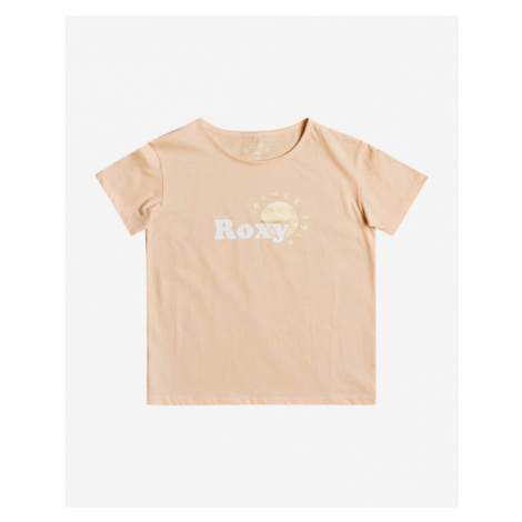 Roxy Day And Night Foil Kinder  T‑Shirt Beige