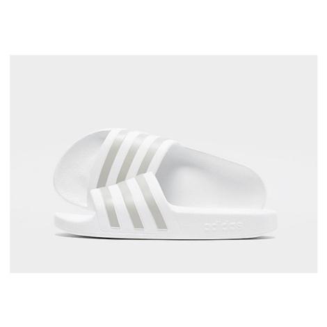 Adidas Aqua Adilette - White - Damen, White