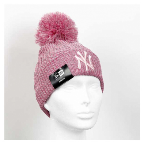 New Era Youth Eng Fit Knit NY Yankees Pink
