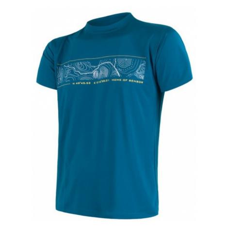 Herren T-Shirt Sensor COOLMAX FRESH PT GPS saphir 17100013