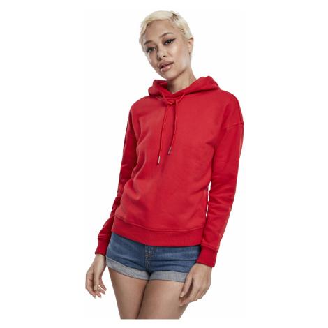 Urban Classics Sweater Damen LADIES HOODY TB1524 Rot Fire Red