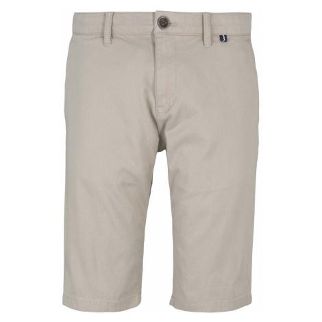 TOM TAILOR Herren Chino Slim Shorts mit Bio-Baumwolle , beige