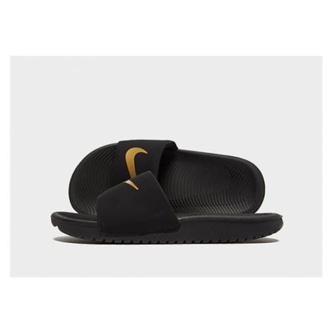 Nike Kawa Badelatschen Kleinkinder - Black/Gold - Kinder, Black/Gold
