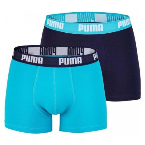 Puma BASIC BOXER 2P blau - Herren Boxershorts