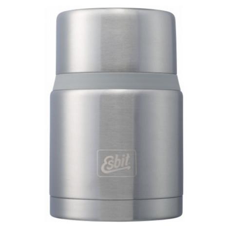 Vacuum Thermosflasche  Lebensmittel von Edel- Stahl Esbit Lux mit löffel 0,75 l Grey FJ750SP-BS