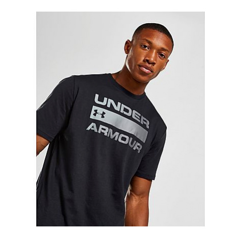 Under Armour Team Issue Wordmark SS T-Shirt Herren - Black - Herren, Black