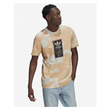 adidas Originals Camo Tongue Label T-Shirt Beige