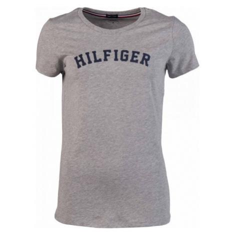 Tommy Hilfiger SS TEE PRINT grau - Damenshirt