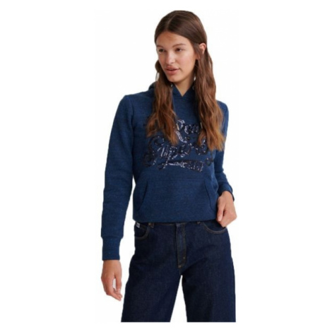 Superdry THE REAL TONAL blau - Damen Sweatshirt