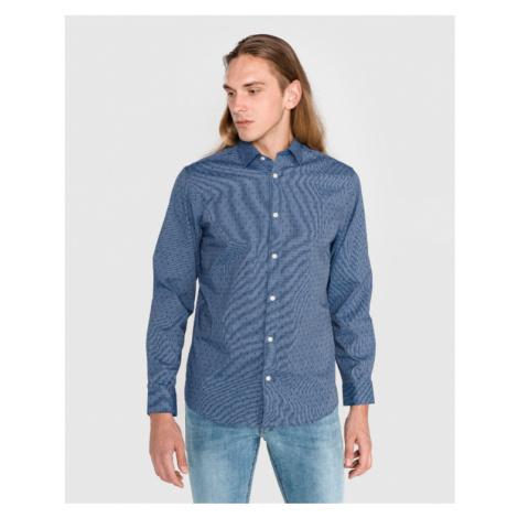 SELECTED Regpen Hemd Blau