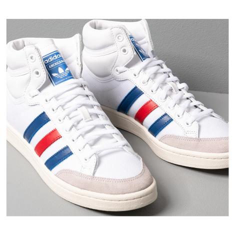 adidas Americana Hi Ftw White/ Core Royal/ Scarlet