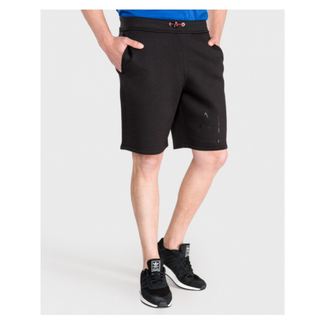 Armani Exchange Shorts Schwarz