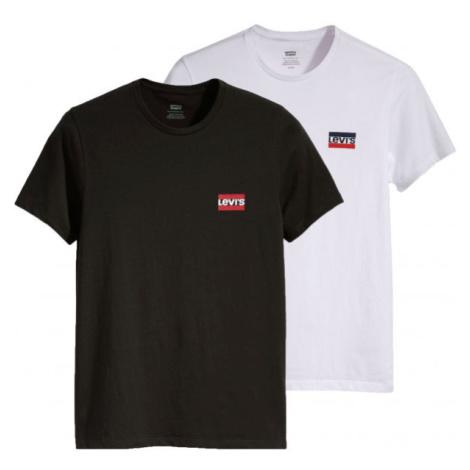 Levi's 2PK CREWNECK GRAPHIC weiß - Herren T- Shirt Levi´s