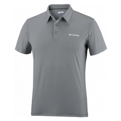 Columbia TRIPLE CANYON TECH POLO grau - Herren Poloshirt