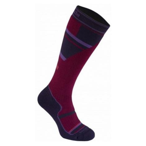 Socken Bridgedale Ski Mountain Junior purple/grey/070