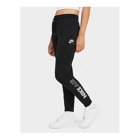 Nike Air Fleecehose Damen - Black/White - Damen, Black/White