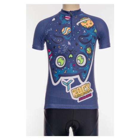 Kinder Radsport Dress Silvini Scrivia CD1434 marine-ringelblume