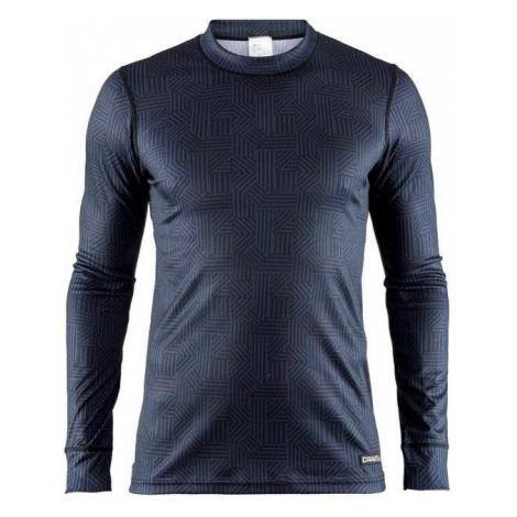 T-Shirt CRAFT Mix and Match 1904510-6136 - black mit dark  blau