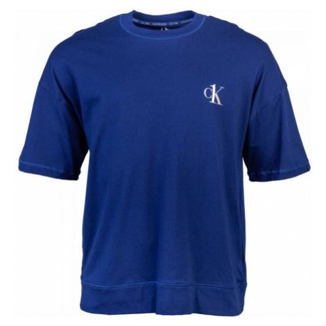 Calvin Klein S/S CREW NECK dunkelblau - Herrenshirt