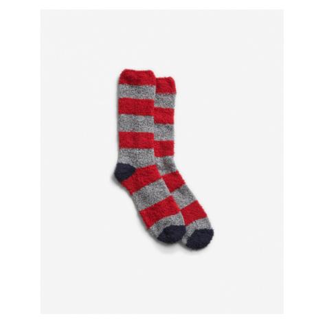 GAP Socken Rot Grau