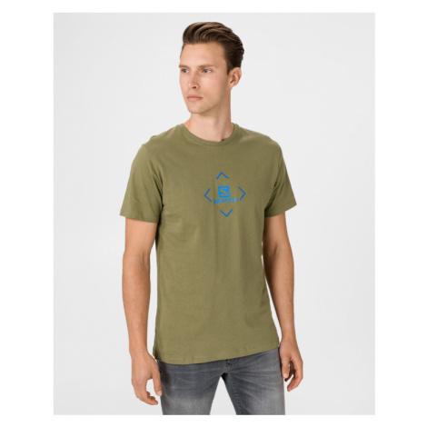 Salomon Logo T-Shirt Grün