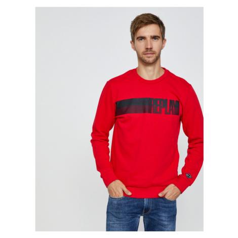 Replay Sweatshirt Rot