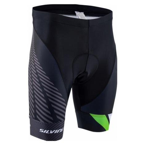 Herren Radsport Shorts Silvini Team MP1407 schwarz/grün