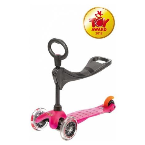 Scooter Mini Micro 3 in 1 Pink