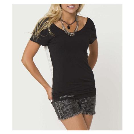 Street T-Shirt Frauen Kinder - LEIA - METAL MULISHA - M24703207.01_BLK