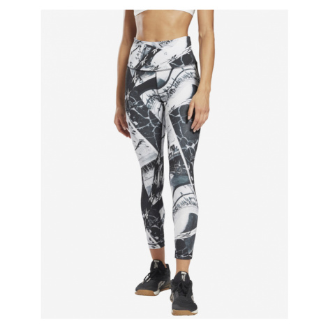 Reebok Workout Ready AOP Legging Schwarz