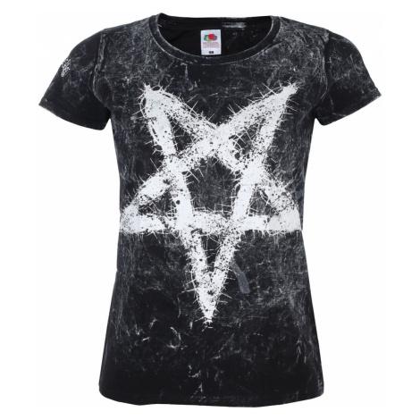 Hardcore T-Shirt Frauen - PENTAGRAM - AMENOMEN - OMEN096DA L