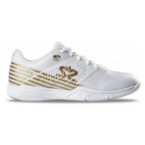 Schuhe Salming Viper 5 Shoe Women Weiß / Gold