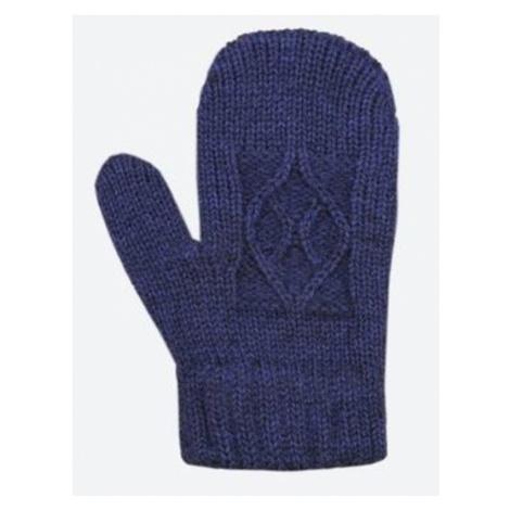 Kinder gestrickte Merino Handschuhe Kama RB202 108