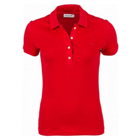 Lacoste SHORT SLEEVE POLO rot - Poloshirt für Damen