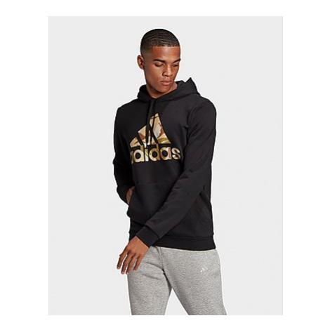 Adidas Essentials Camouflage Hoodie - Black - Herren, Black