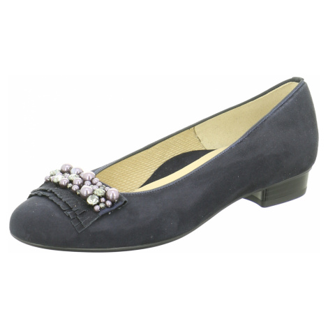 Damen Ara Ballerinas blau