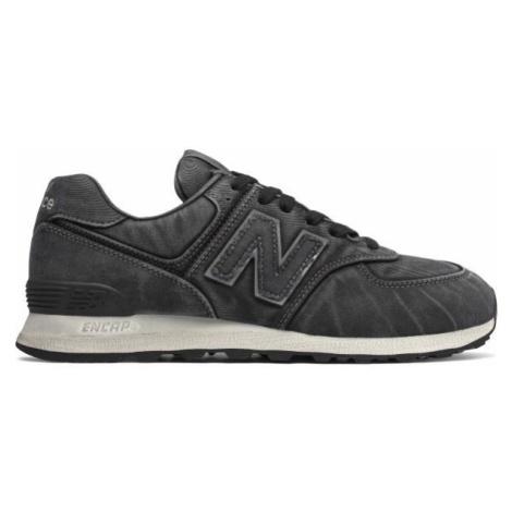 New Balance ML574WSB schwarz - Herren Sneaker