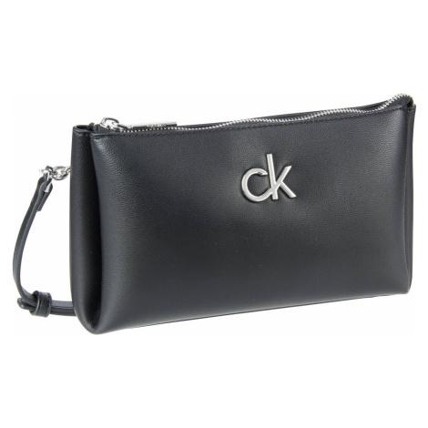 Calvin Klein Umhängetasche Re-Lock Xbody Double Zip SP21 CK Black (2 Liter)