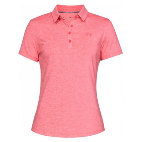 Under Armour ZINGER SHORT SLEEVE POLO rosa - Poloshirt für Damen