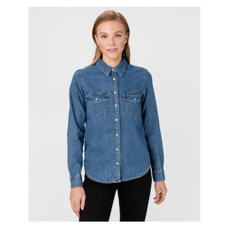 Levi's® Essential Western Hemd Blau Levi´s