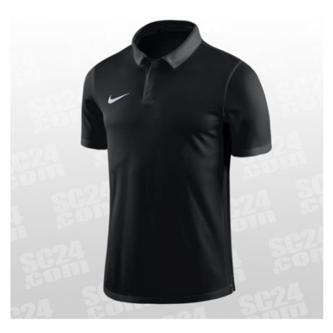 Nike Dry Academy 18 SS Polo schwarz Größe S