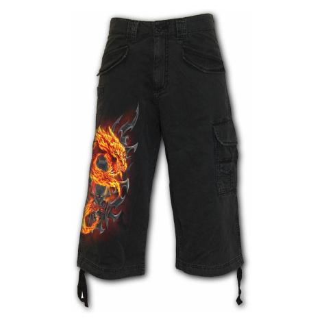 Herren Shorts SPIRAL - FIRE DRAGON - Schwarz - T112M705