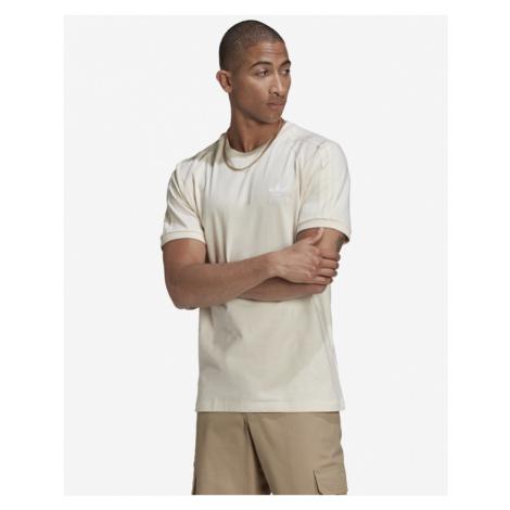 adidas Originals Adicolor 3-Stripes No-Dye T-Shirt Beige