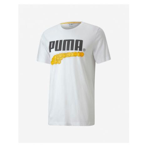 Puma Club Graphic T-Shirt Weiß